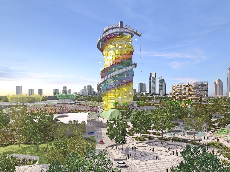 2014 Gold Coast Cultural Precinct Masterplan - Art Tower